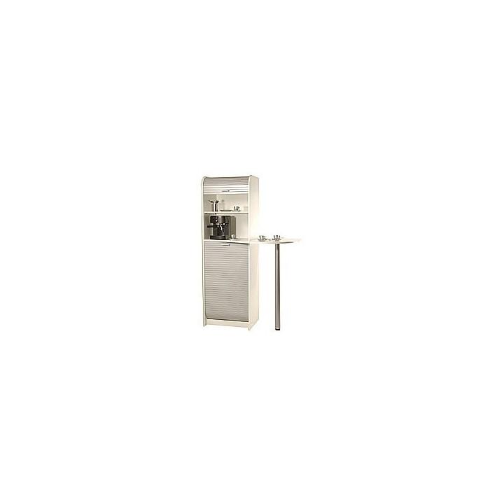 Simmob meuble de rangement pour machine caf et four micro ondes 3 colis setico - Meuble de rangement pour micro onde ...