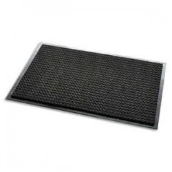 3M Tapis daccueil Aqua Nomad noir 65 doublefibres 90 x 60 cm épaisseur 7,5 mm