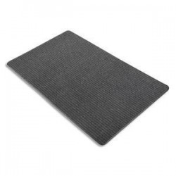3M Tapis daccueil Aqua Nomad 45 noir double fibre gratante et absorbante 120 x 180 cm épaisseur 5,6 mm