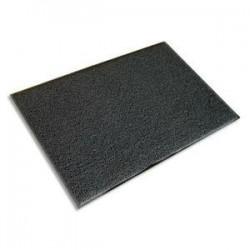 FLOORTEX Tapis daccueil dextérieur Dimensions L90 x H60 cm coloris gris