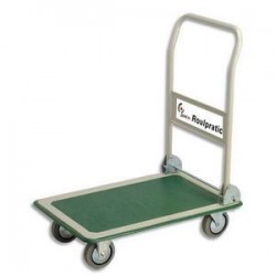 SAFETOOL Chariot pliable charge utile 300 kg diemensions 60,8x90,7x85 cm
