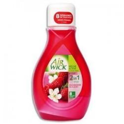 AIR WICK Mèche parfum framboisier flacon 375 ml