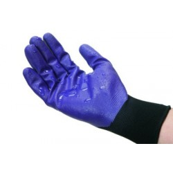 GANT DE PROTECTION ENDUIT NITRILE XL 9