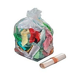 SACS POUBELLES Sac poubelle 110L transparent par 200