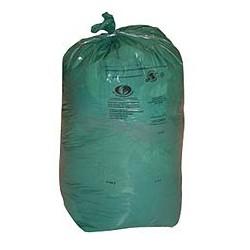 SACS POUBELLES Boite de 8 rouleaux de 25 sacs poubelle vert 110l 5003 DELAISY KARGO