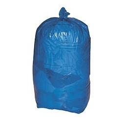 SACS POUBELLES Carton de 8 rouleaux de 25 sacs poubelle 110L bleus HERSAND DELAISY KARGO