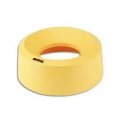 VILEDA Couvercle entonnoir rond pour collecteur Iris Diamètre 38 cm, hauteur 15 cm coloris jaune