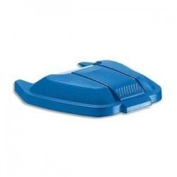 RUBBERMAID Couvercle bleu pour conteneur à roues 100L