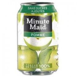 MINUTE MAID Canette de jus de pomme de 33cl