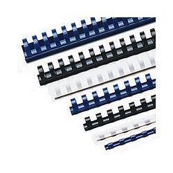 Accessoires pour reliures à anneaux plastique